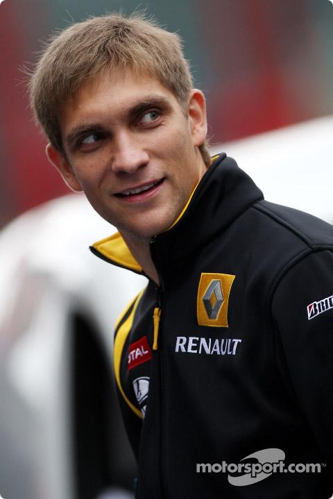 Виталий Петров на Гран-при Бельгии 2010
