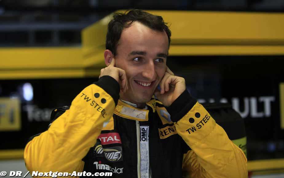Роберт Кубица на Гран-при Италии 2010