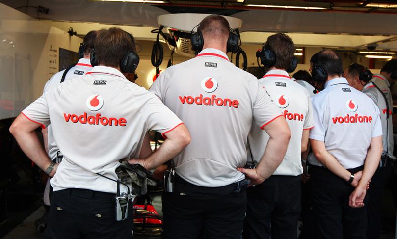 McLaren на Гран-при Сингапура 2010