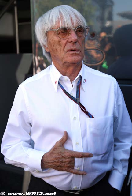 Берни Экклстоун на Гран-при Италии 2010