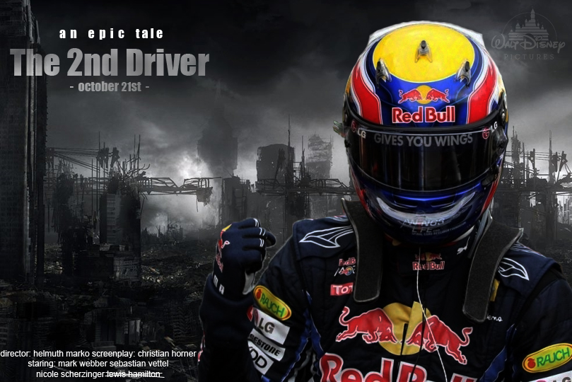 Марк Уэббер Red Bull The 2nd Driver