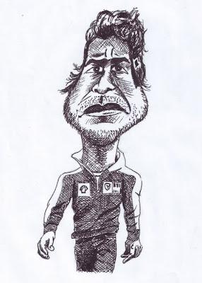 карикатура Фернандо Алонсо