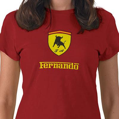 футболка Фернандо Алонсо Ferrari
