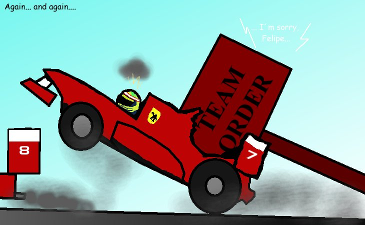 team order Ferrari