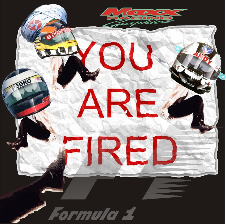 you are fired Педро де ла Роса Карун Чандхок Энди Соучек Maxx Racing