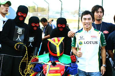 Такумо Сато на Гран-при Японии 2010