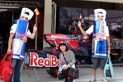 болельщики Toro Rosso на Гран-при Японии 2010
