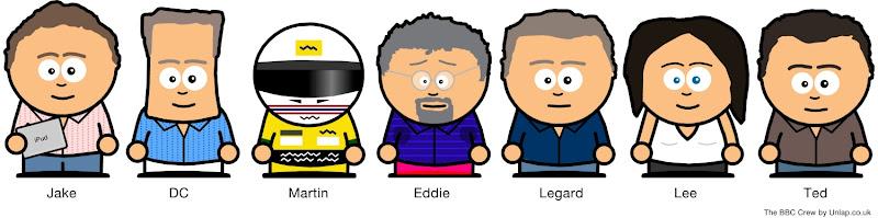 Команда репортеров Формулы-1 на BBC by Unlap