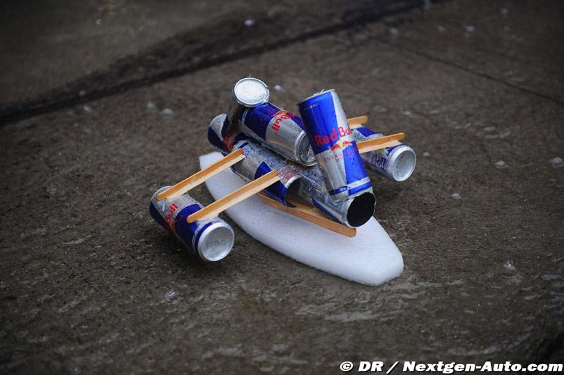 кораблик Red Bull крупным планом на Гран-при Японии 2010