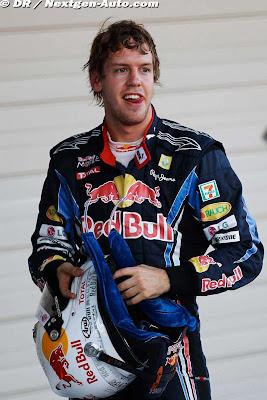 Себастьян Феттель на Гран-при Японии 2010