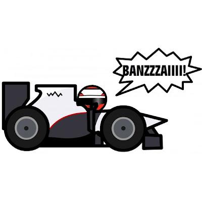Камуи Кобаяши банзай Гран-при Японии 2010