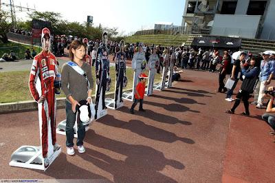 модели пилотов на Гран-при Японии 2010