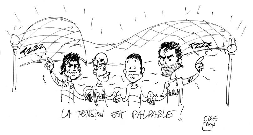 карикатура Cirebox перед Гран-при Абу-Даби 2010
