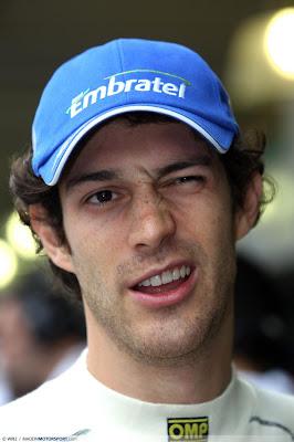 Бруно Сенна на Гран-при Бразилии 2010