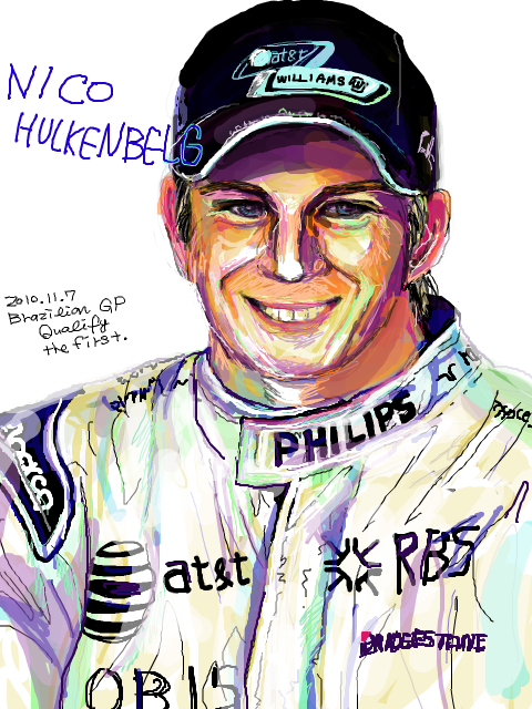 Нико Хюлькенберг завоевал поул на Гран-при Бразилии 2010