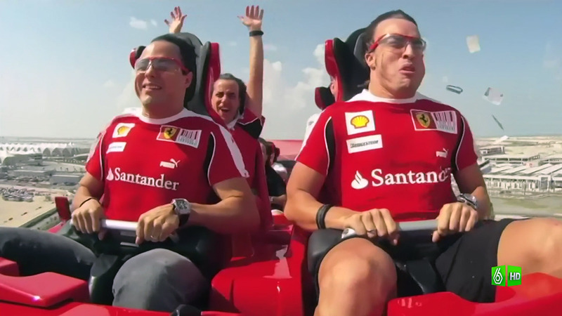 Фернандо Алонсо и Фелипе Масса