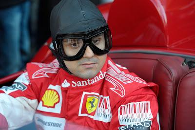 Фелипе Масса за рулем Ferrari 500 TRC