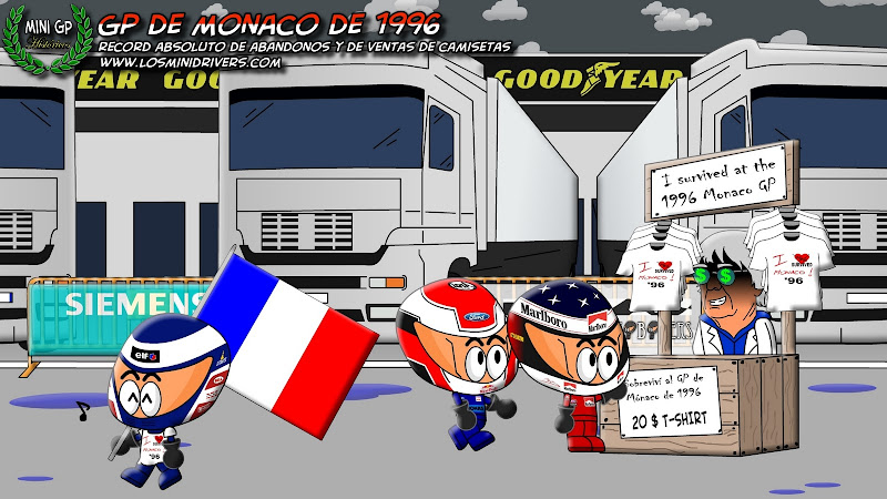 исторический выпуск Los MiniDrivers про Гран-при Монако 1996