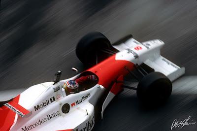 фото Дэвид Култхард на McLaren Гран-при Монако 1996