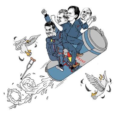 Марк Уэббер Себастьян Феттель Кристиан Хорнер Эдриан Ньюи Red Bull