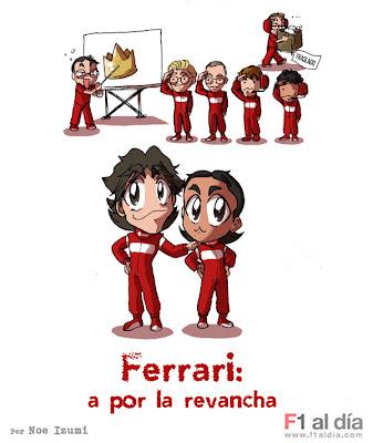 Ferrari готовы бороться за титул в 2011 Noe Izumi