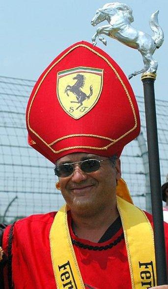 Патриарх Ferrari костюм болельщика