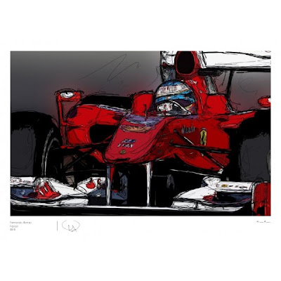 Фернандо Алонсо Ferrari 2010 by Unlap