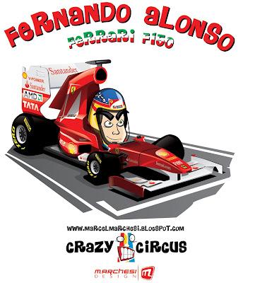 Фернандо Алонсо Ferrari F150 2011