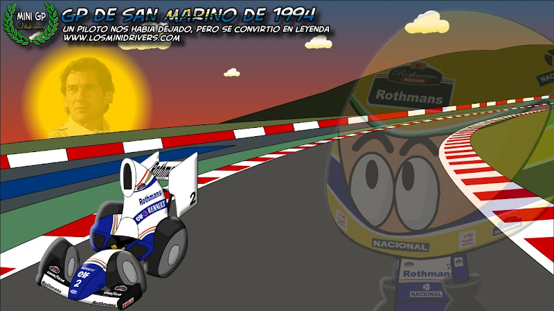 Айртон Сенна Williams Los MiniDrivers Гран-при Сан-Марино 1994