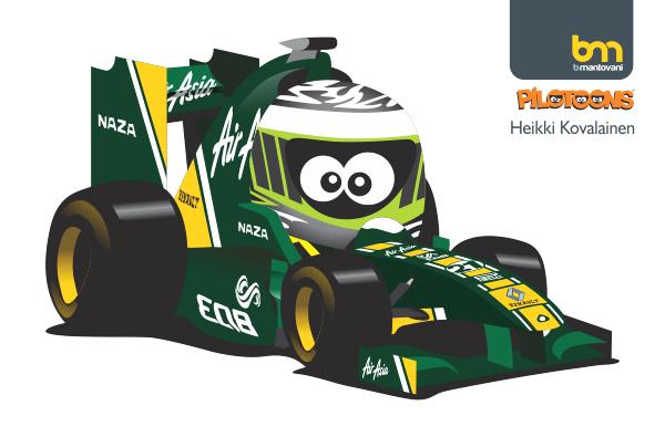 Хейкки Ковалайнен Lotus 2011 pilotoons