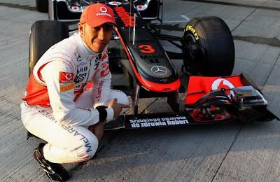 Льюис Хэмилтон и McLaren желают Кубице скорейшего выздоровления