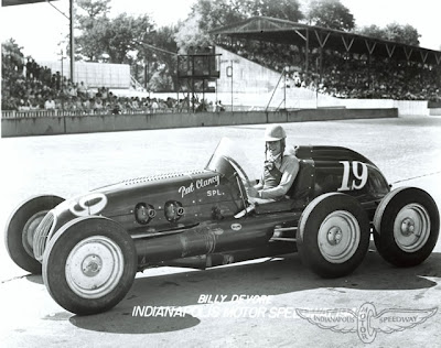 Pat Clancy Special Indy 500 1948 driven by Billy Devore