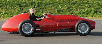 Ширли ван дер Лоф за рулем Ferrari 1951