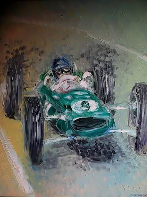 Джим Кларк Lotus Autoartist Sergey Parfenjuk