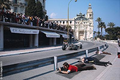 фотографы на Гран-при Монако 1969