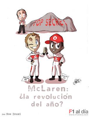 Дженсон Баттон и Льюис Хэмилтон готовят секретный McLaren для предстоящего сезона от Noe Izumi