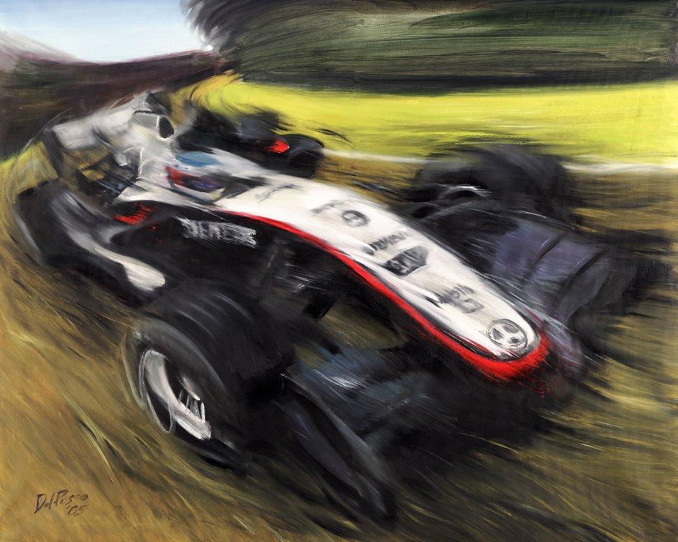 Кими Райкконен McLaren MP4-20 2005