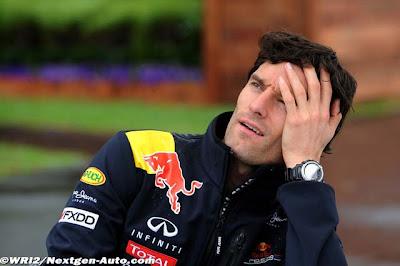Марк Уэббер с головной болью на Гран-при Австралии 2011