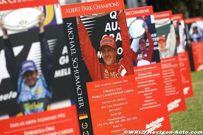 Михаэль Шумахер победитель Гран-при Австралии 2004