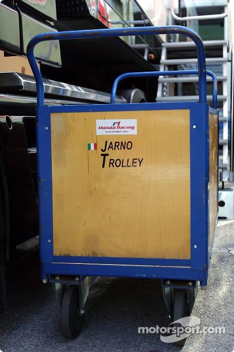 Ярно Трулли Jarno Trolley на контейнере