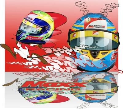 Фелипе Масса быстрее Фернандо Алонсо на Гран-при Китая 2011 от Maxx Racing