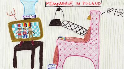 Роберт Кубица следит за подиумом Гран-при Малайзии 2011 дома в Польше