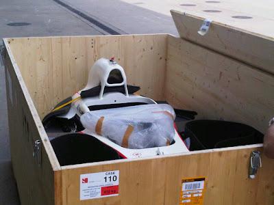 шасси Sauber для Серхио Переса на Гран-при Китая 2011