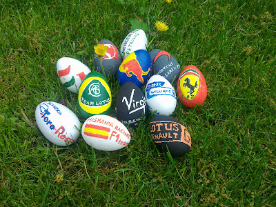 Easter Eggs F1 2011 by Andrea Tajthi