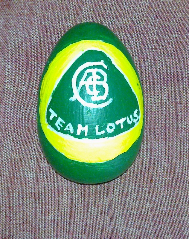 Easter Eggs F1 2011 Team Lotus
