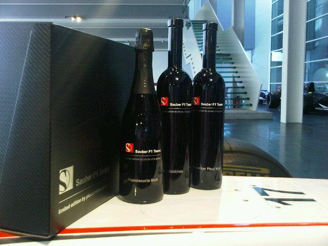 вина Plozza Wine Group для Sauber