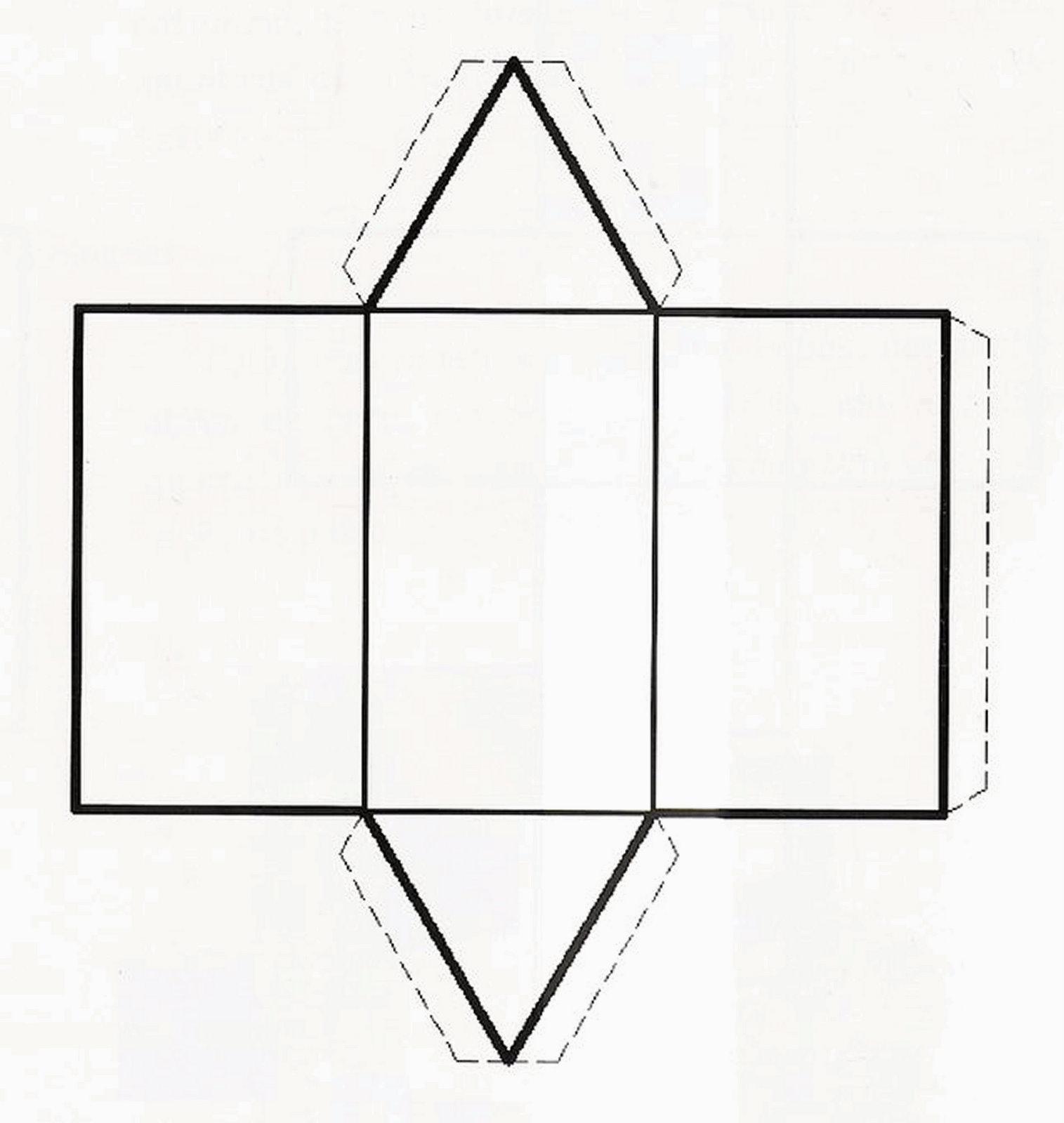 Pro matem tica maluca m bile de s lidos geom tricos for Como hacer un sobre rectangular