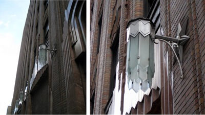NYC Deco light fixture