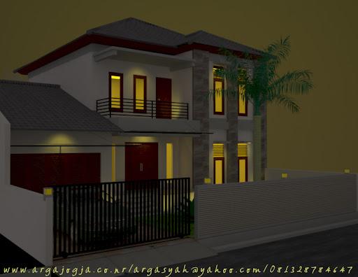 Mempercantik Fasad Rumah Dengan Atap Tarik