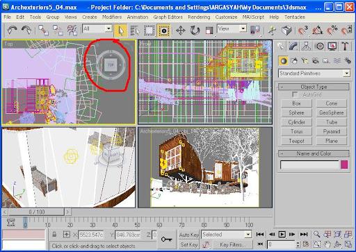 Tutorial Cara Menyembunyikan View Cube pada 3Ds Max